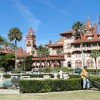 Flagler College was built as a hotel