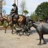 More bronze statues