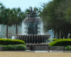 Battery Water Front Fountain
