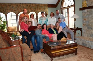 Easter at Art and Nancy home