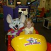 Cate at Chucky Cheese