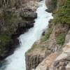 Falls near campsite