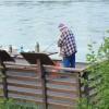 Grumpy olf fisherman